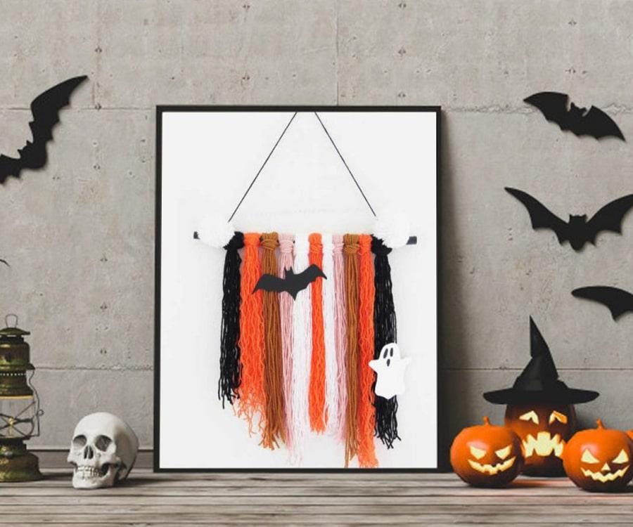 macramé halloween
