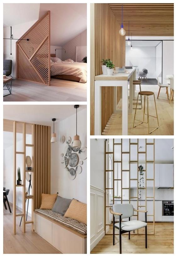 tasseaux de bois design