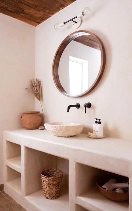 salle de bain slow design