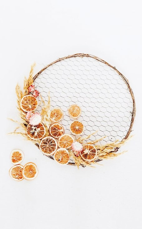 couronne fruits