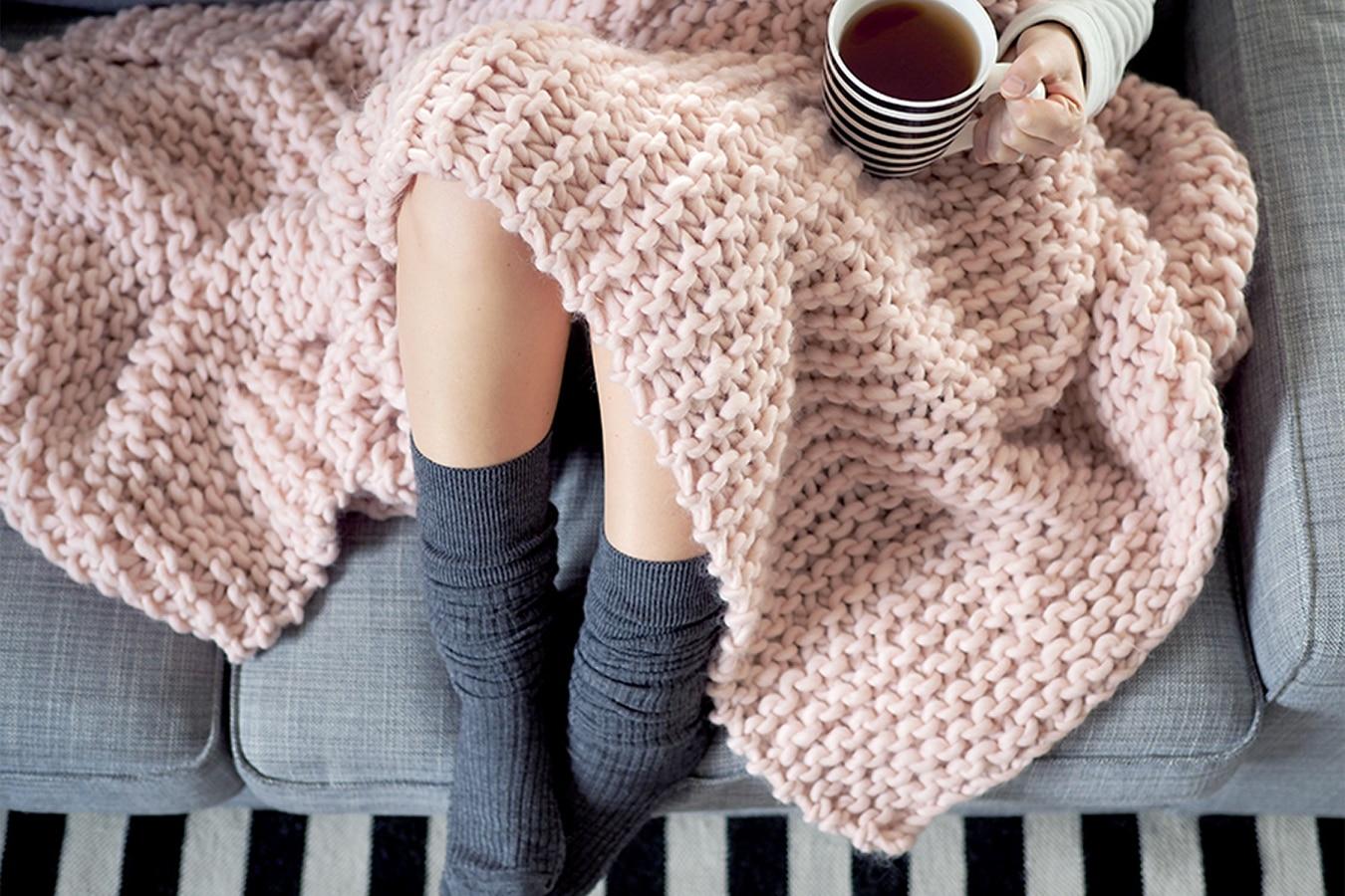 déco en tricot