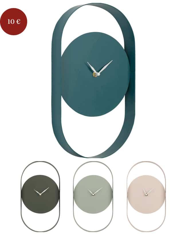 cadeaux Noël horloge design