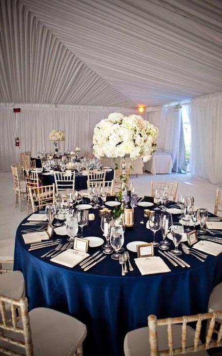 décoration table mariage hiver