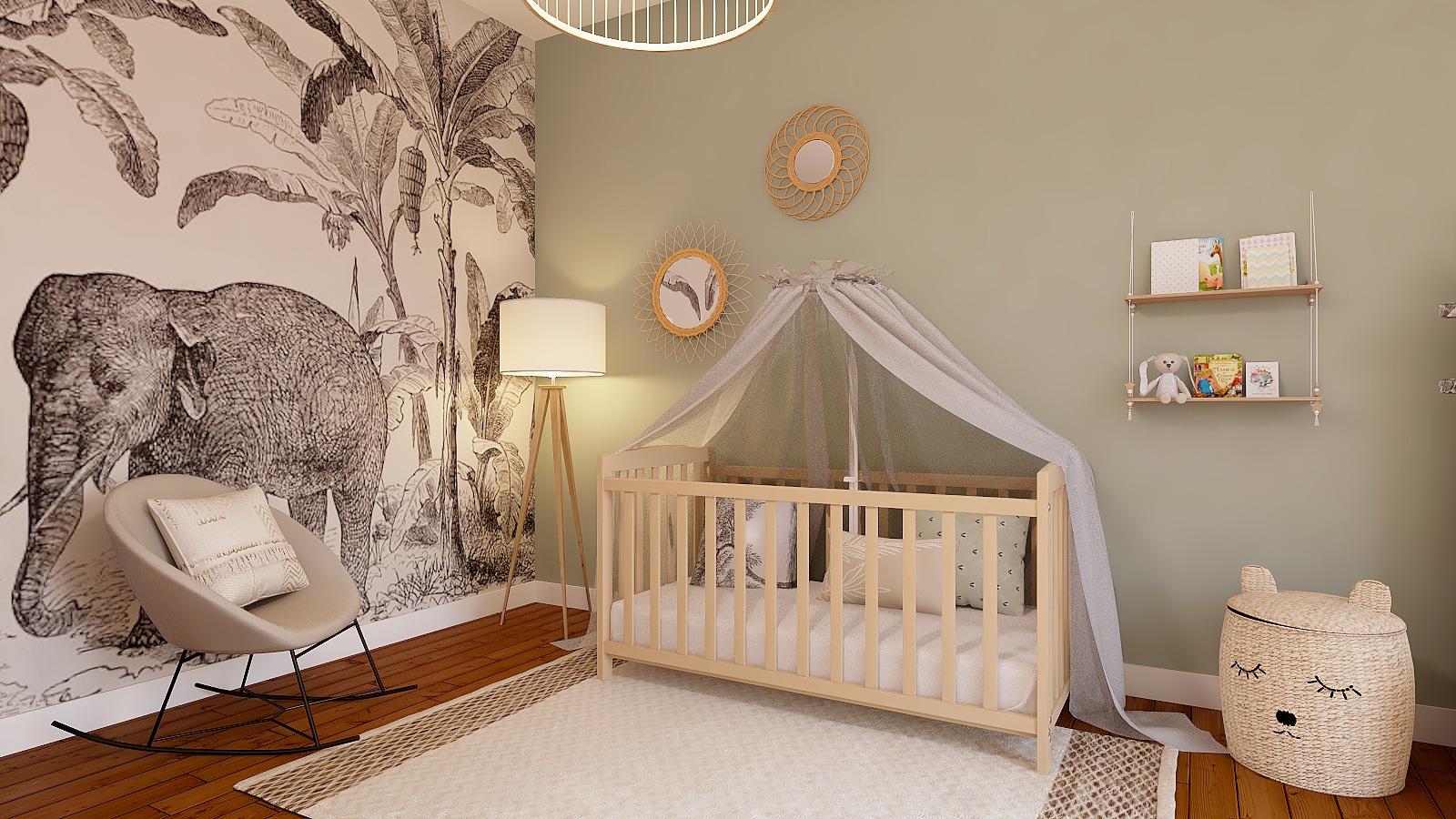 idées déco chambre bébé mixte