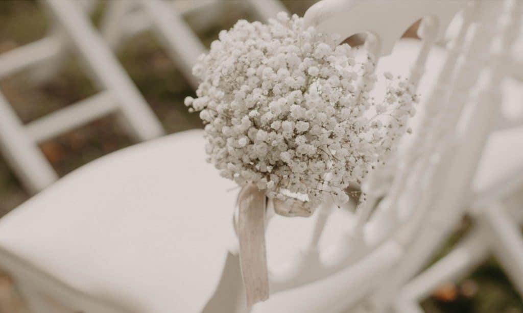 décoration mariage hiver nature