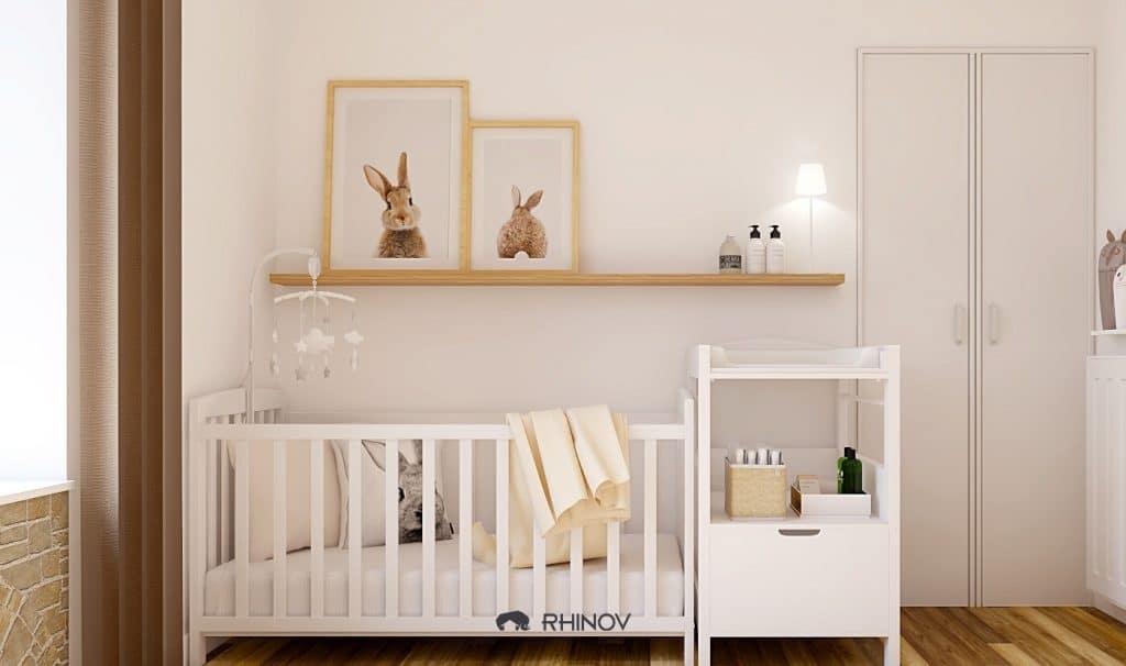 chambre bébé rhinov 3D