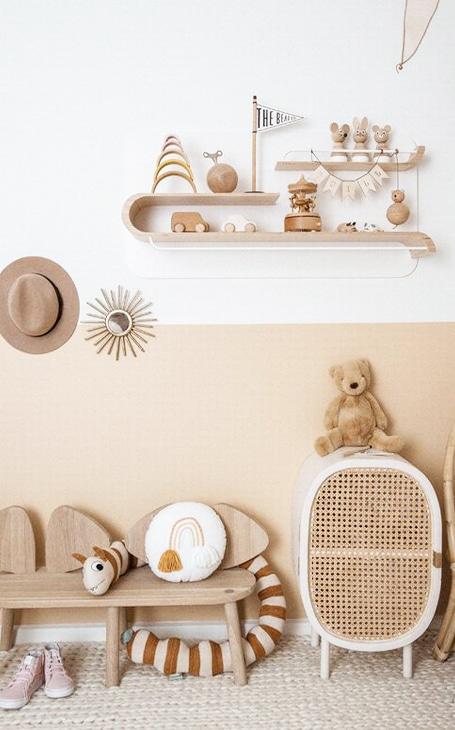 décoration chambre enfant vintage