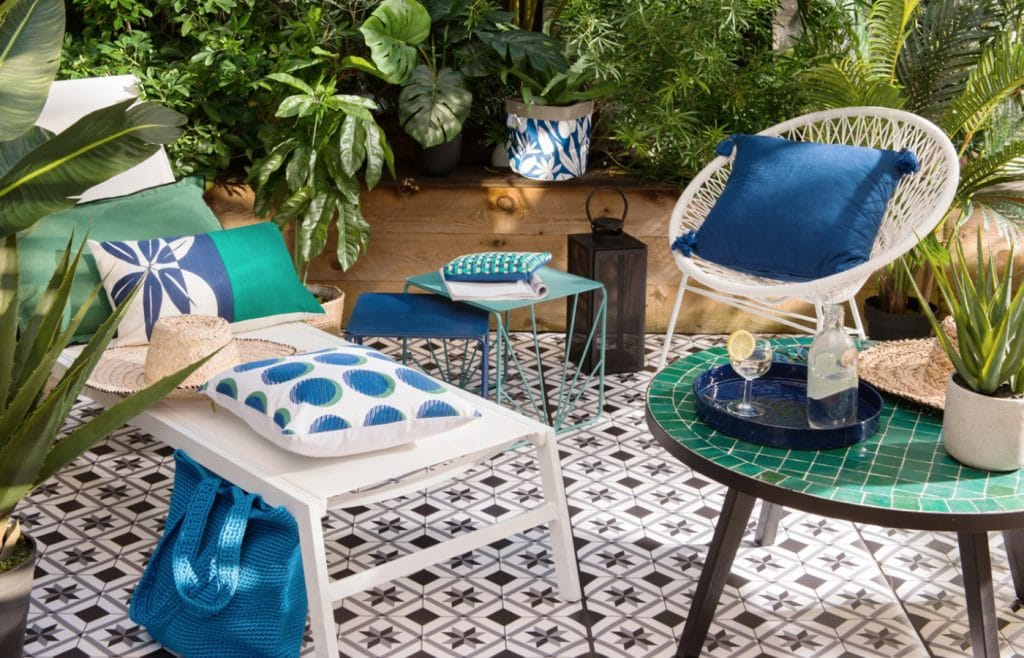 tendance green patio