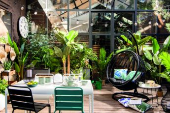 green patio