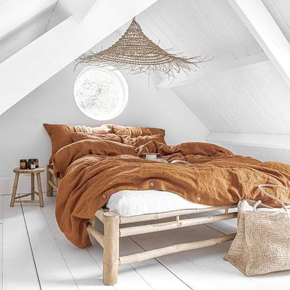 chambre terracotta