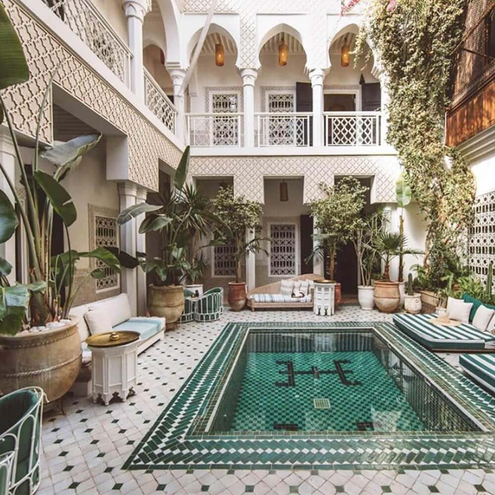 patio bassin