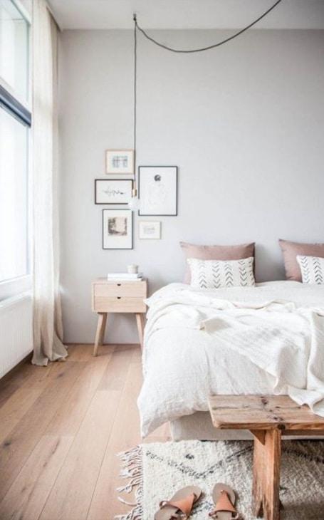 mobilier petite chambre scandinave