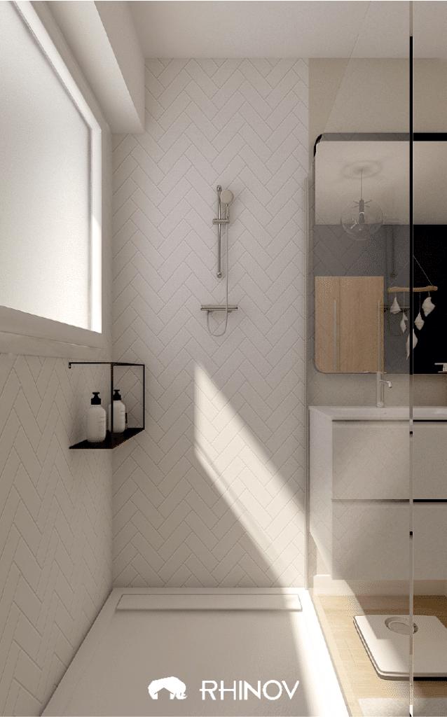 carrelage métro salle de bain