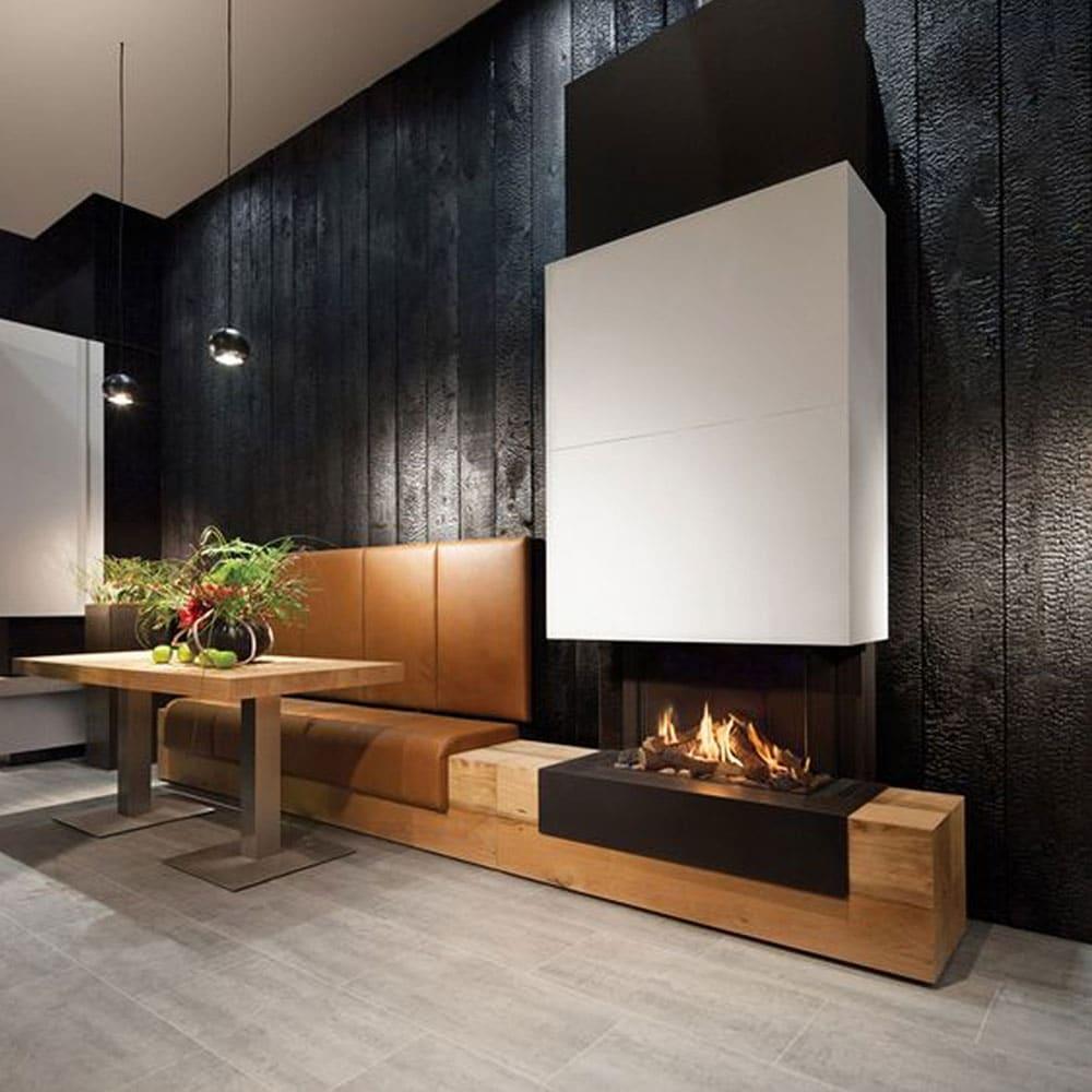 déco murale bois brûlé