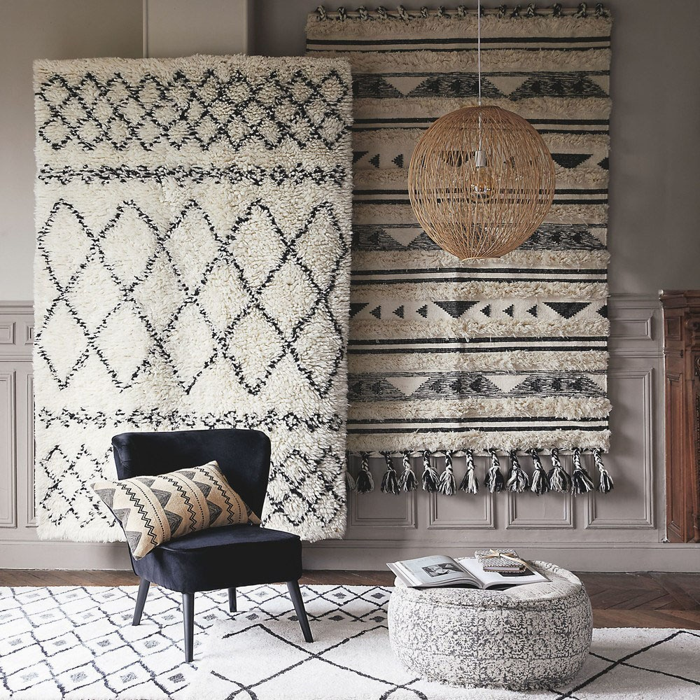 décoration tapis berbère