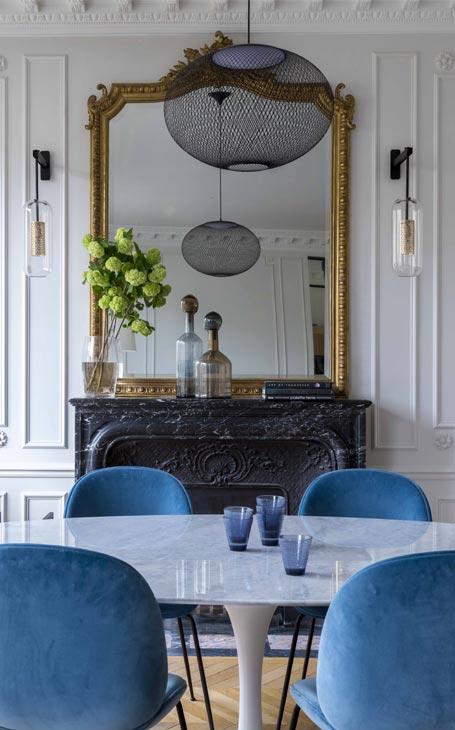 miroir style haussmannien