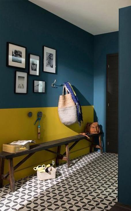 peinture couloir d'entrée