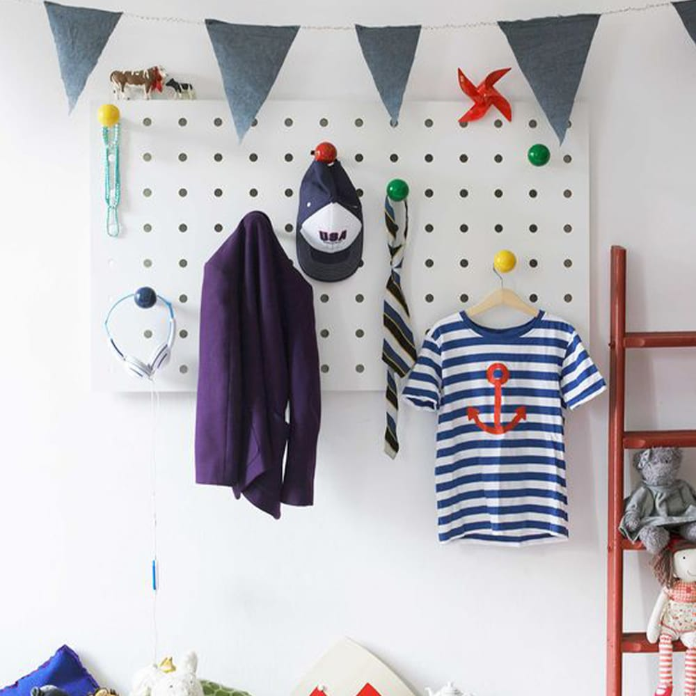 pegboard chambre enfant
