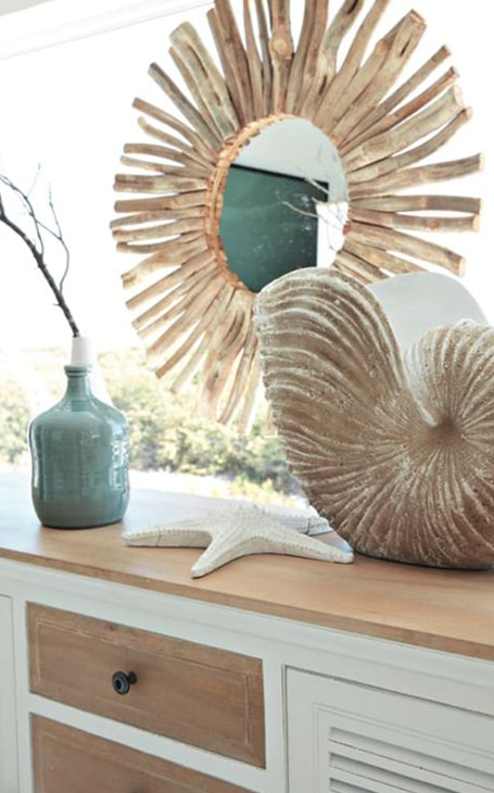decoration vase bord de mer
