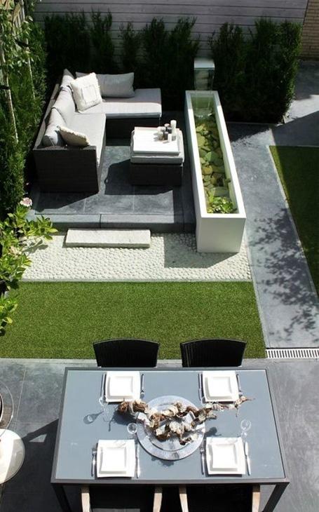aménagement jardin longueur