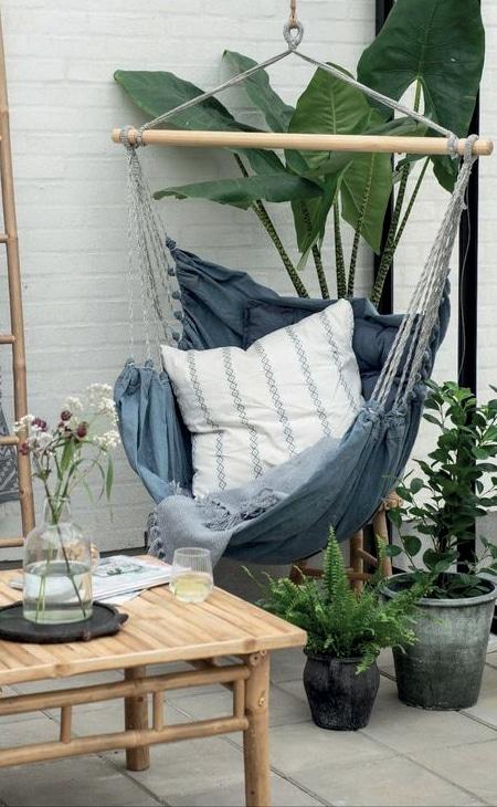 aménagement jardin hamac
