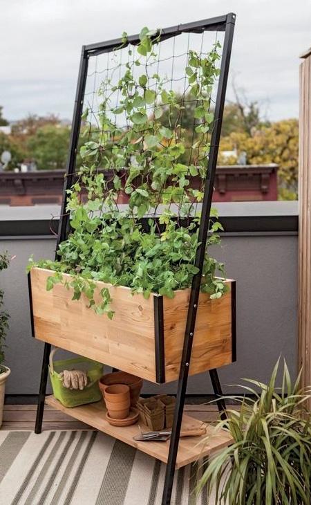 jardinière terrasse