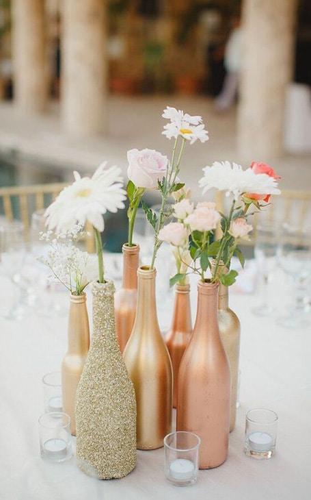 diy décoration table vase