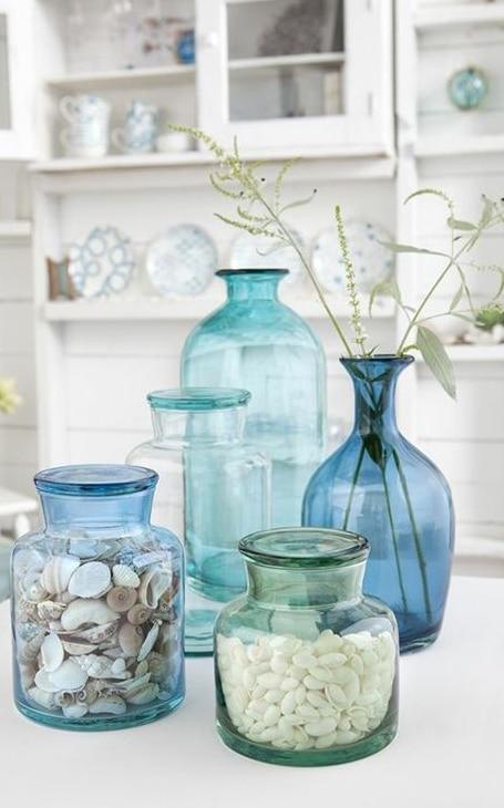 décoration vase bord de mer