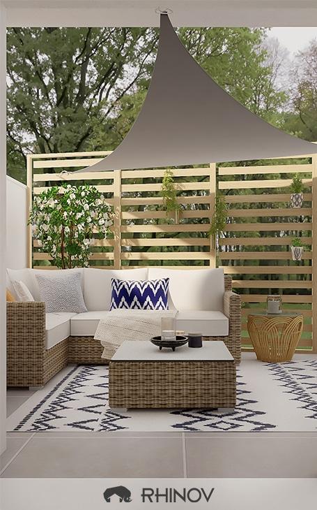 aménagement jardin mobilier extérieur