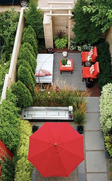 aménagement jardin espace