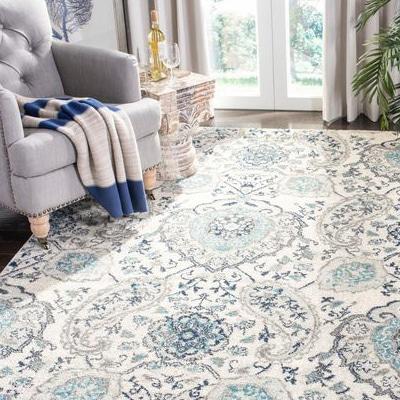 tapis large paisley