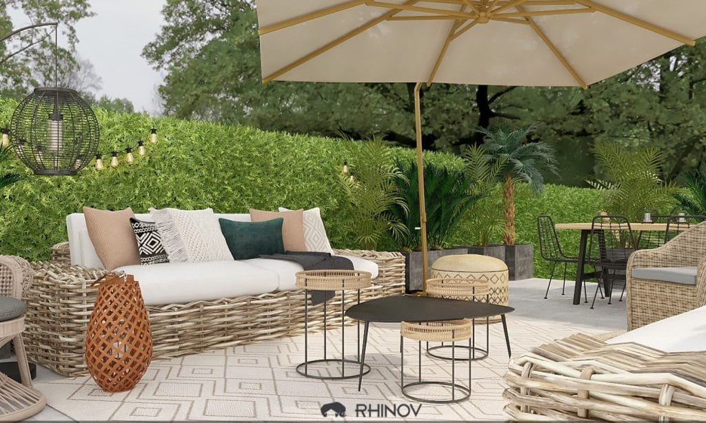projet aménagement jardin rhinov