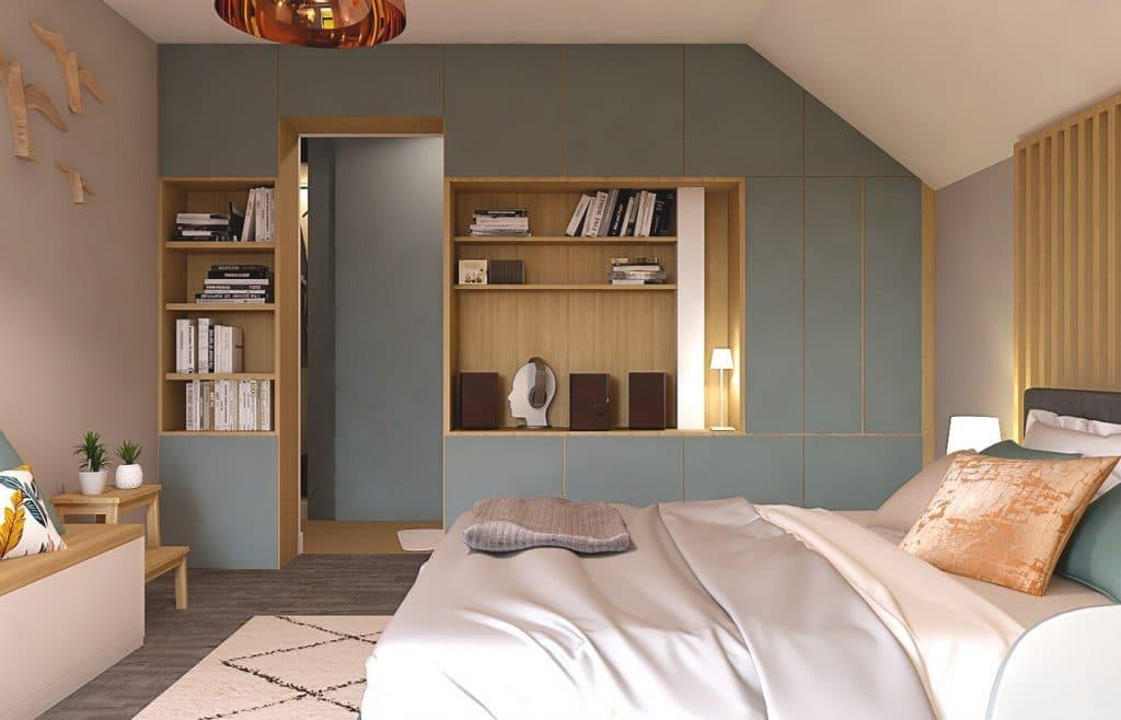 aménagement intérieur chambre