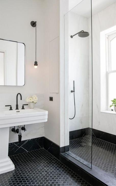 agencement salle de bains suite parentale