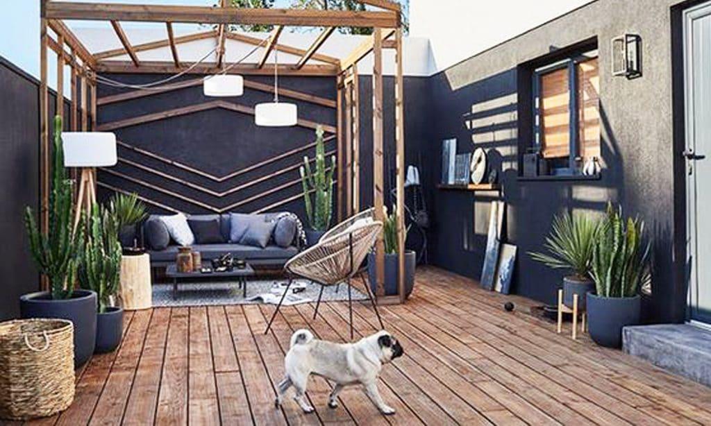aménagement jardin terrasse