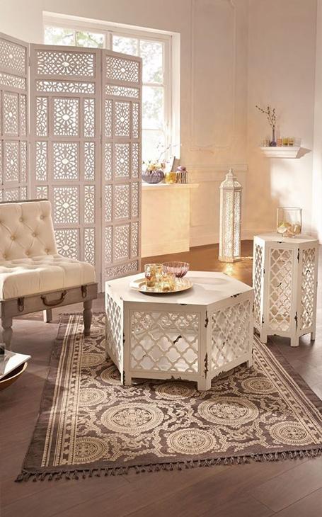 meuble artisanat marocain