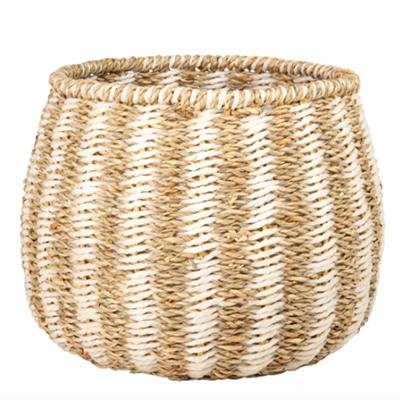 Corbeille en fibre végétale