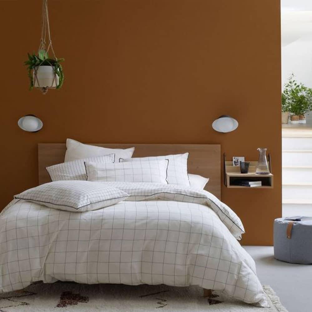 déco linge de lit chambre