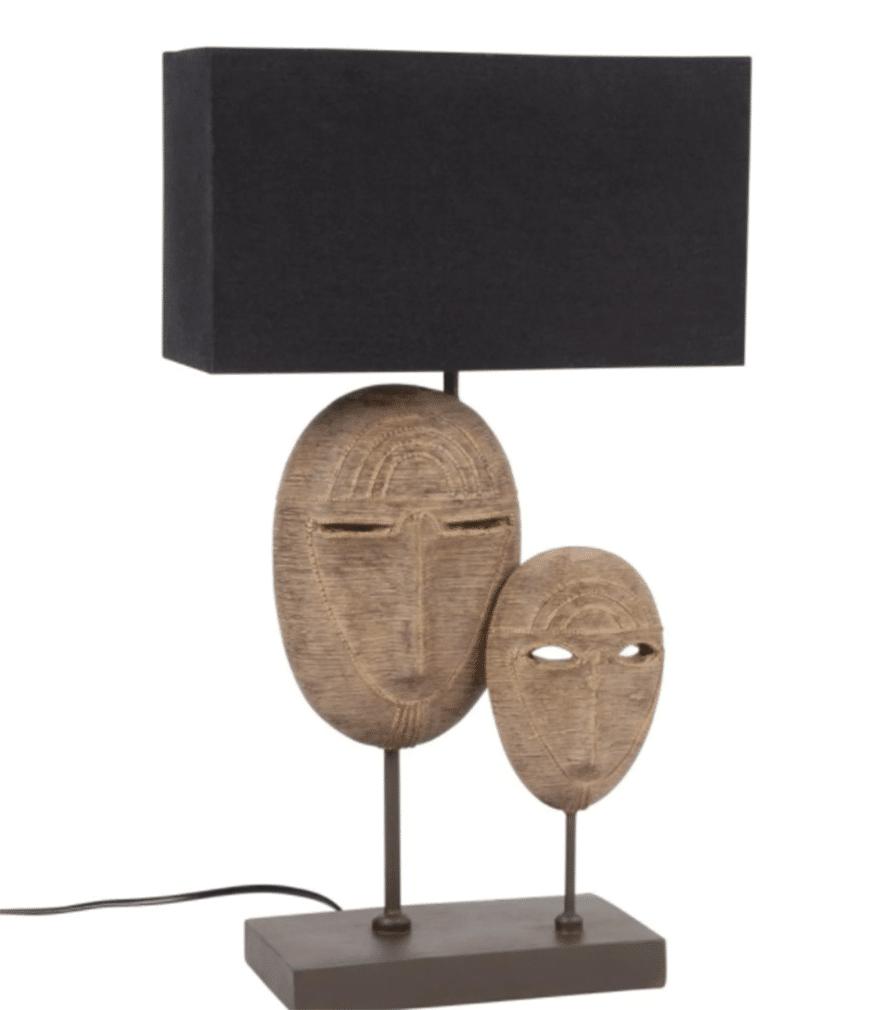 Lampe double masque ZADAR