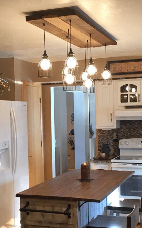 luminaire pour cuisine