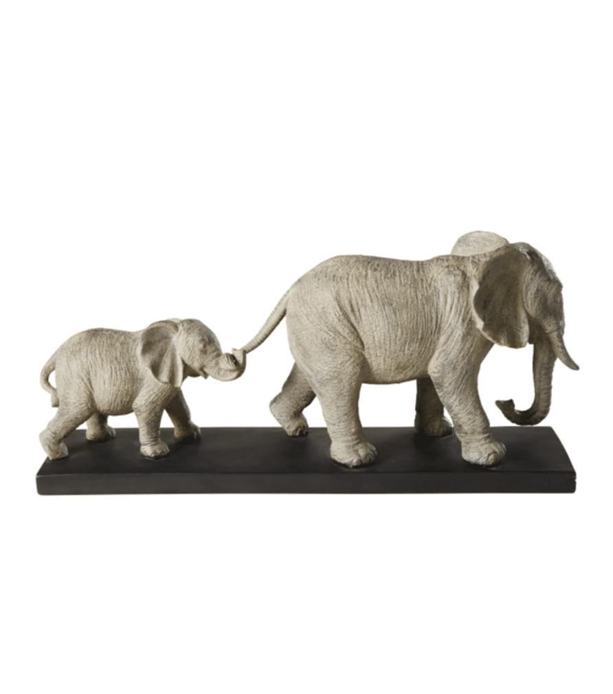Statuette Marche des éléphants