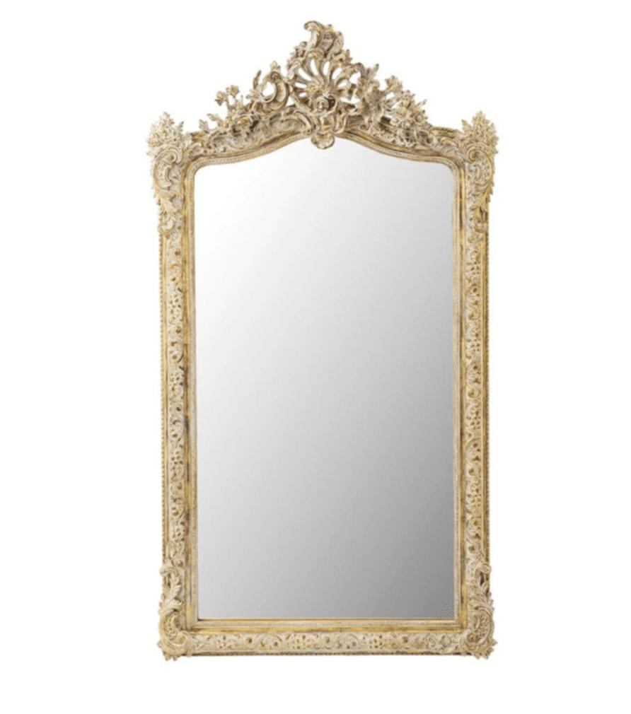 Miroir doré CONSERVATOIRE
