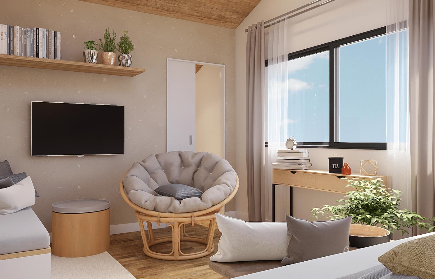 décoration chambre appartement
