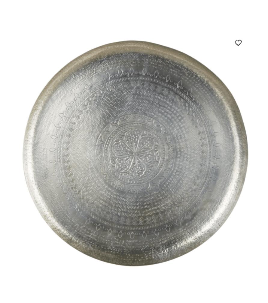 KHAMLIA déco motif mandala en métal