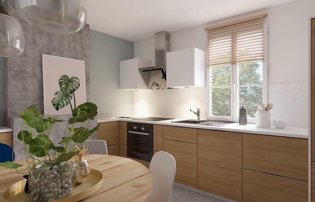 aménagement maison cuisine
