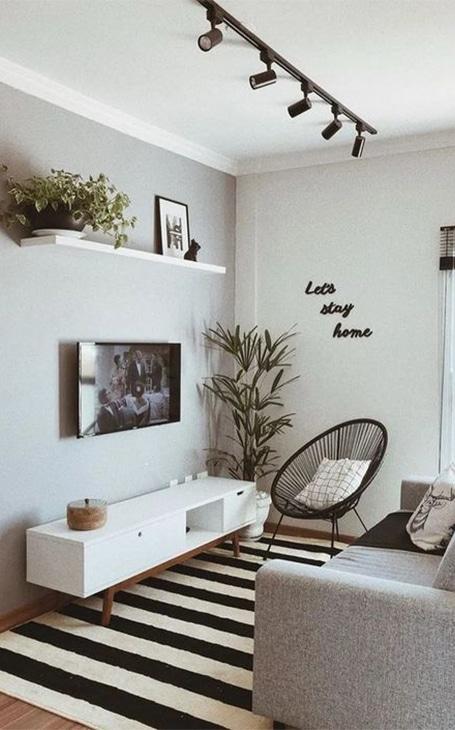 salon décoration contemporaine