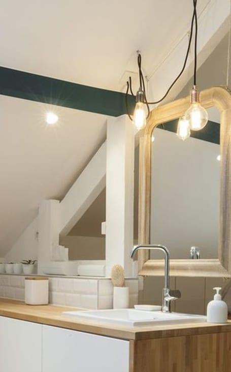lumière salle de bains