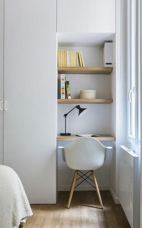 petit bureau dans chambre