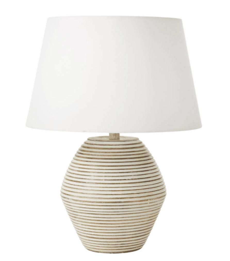lampe en manguier ZENDE