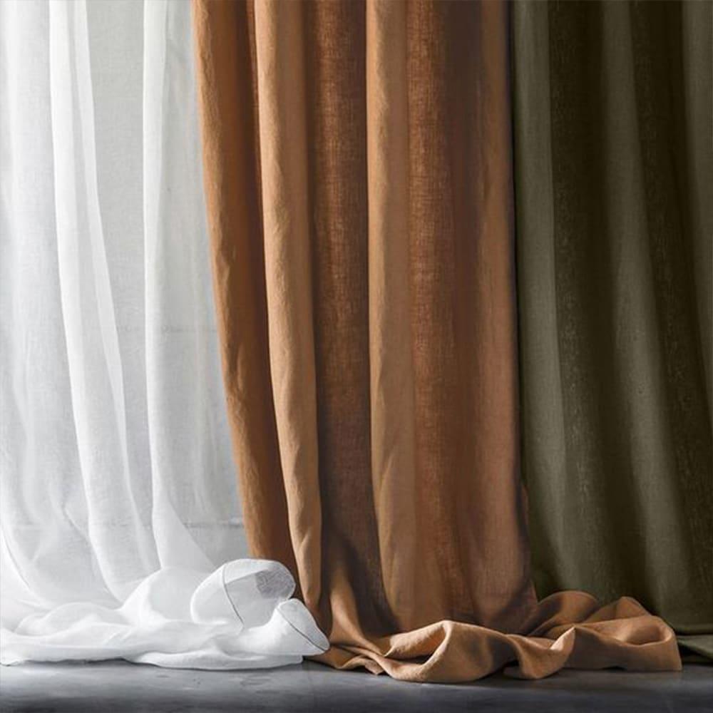 trio couleurs rideaux